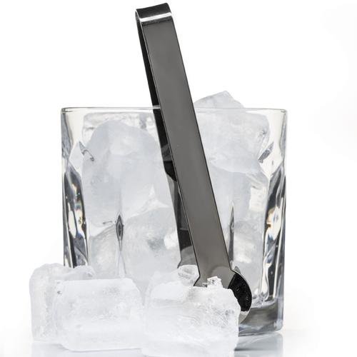 Glass Ice Bucket & Metal Tongs Set | Sagaform