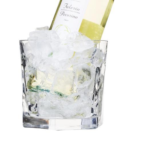 Glass Ice Bucket & Metal Tongs Set | Sagaform