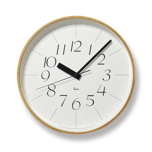 RIKI PLYWOOD CLOCK THIN