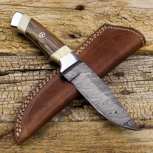 Victorio Apache Warrior Damascus Steel Dual | Forseti Knives
