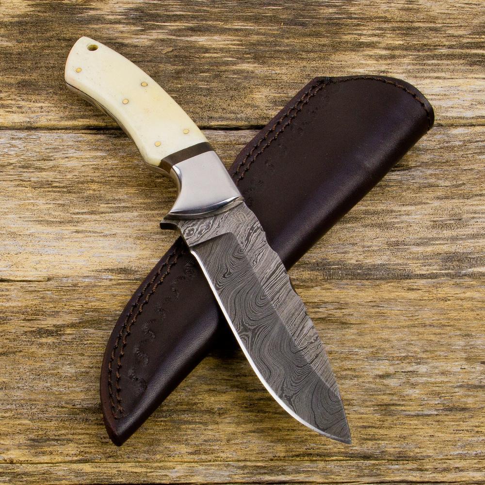 Sir Edmund Damascus Knife | ForsetiKnives