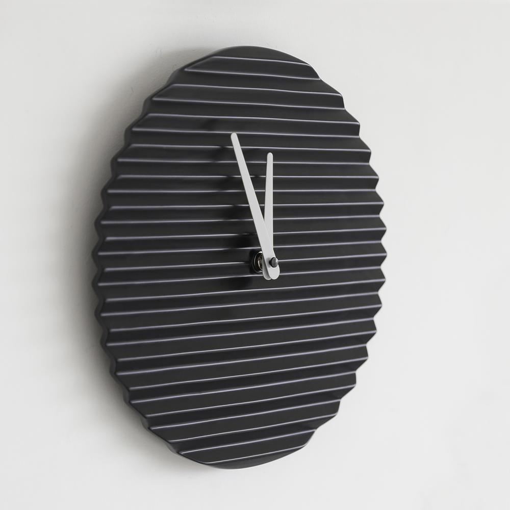 WaveCLOCK | Black | Sabrina Fossi