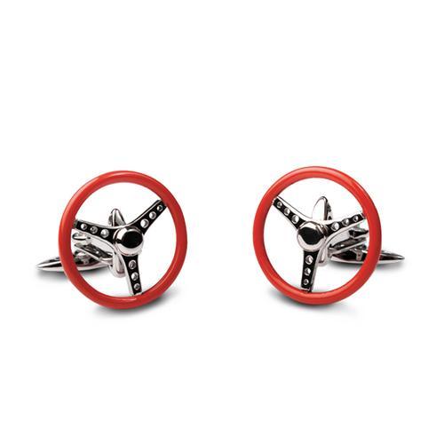 Nardi Torino Spinning Volante Cufflinks