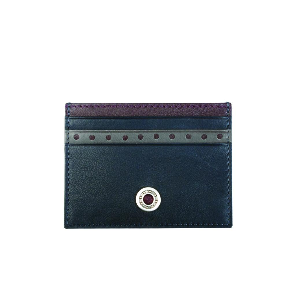 Leather Bearing Credit Card Holder   GTO London