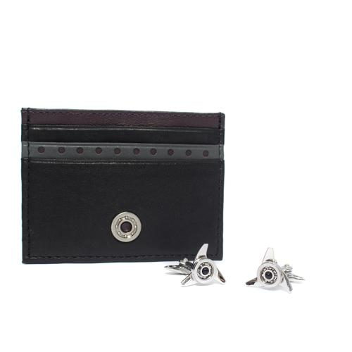 Card Holder / Cufflinks Gift Set   Gallettone
