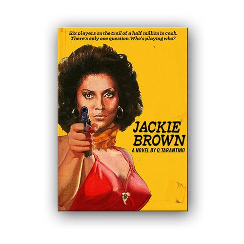 Jackie Brown (Retro Poster)