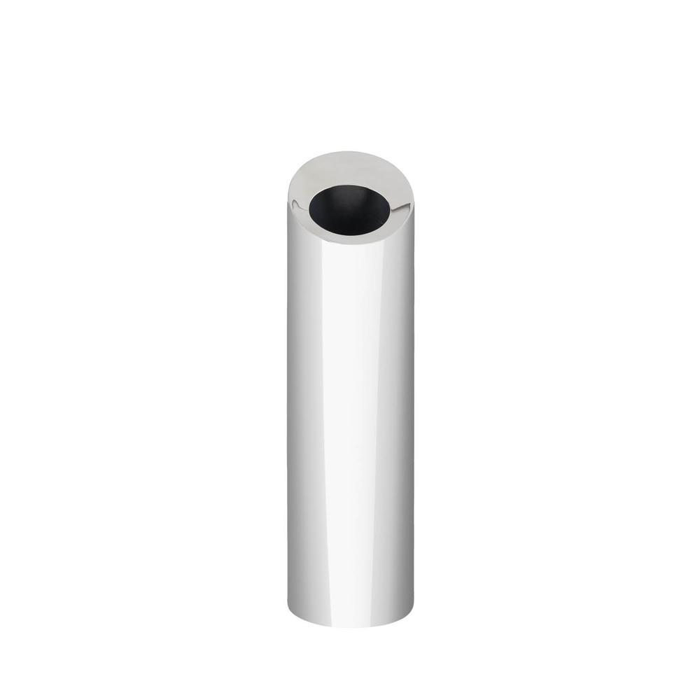 Stainless Steel Bud Oblong Vase