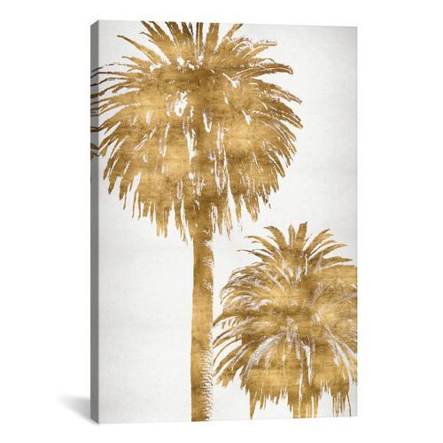 Golden Palms Panel III