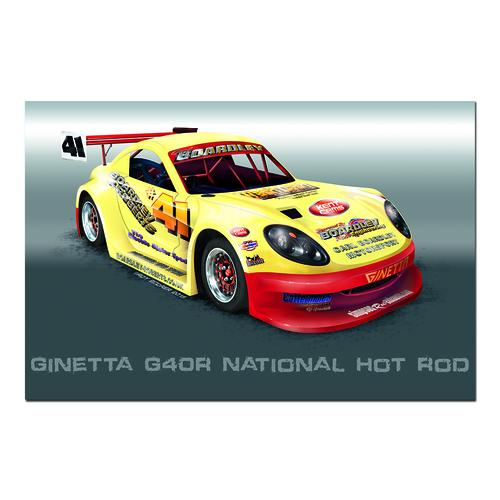 Ginette 640R National Hot Rod | Paper