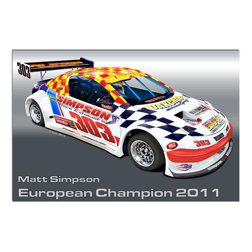 Matt Simpson National Hotrod UK I   Paper