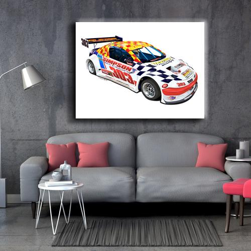 Anatomy National Hotrod | Canvas