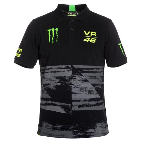 VALENTINO ROSSI MONSTER POLO | Moto GP Apparel