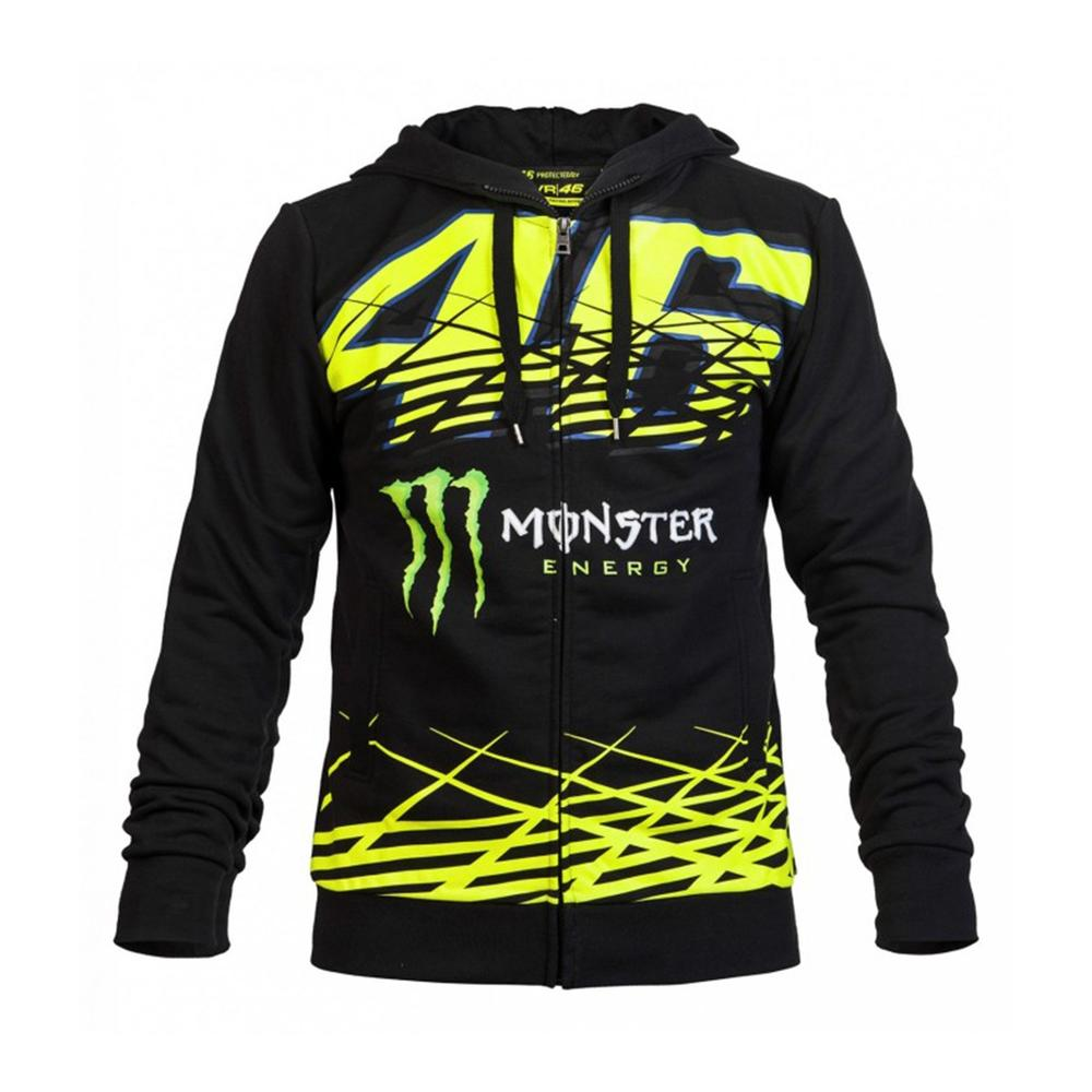 valentino rossi monster hoodie moto gp apparel. Black Bedroom Furniture Sets. Home Design Ideas