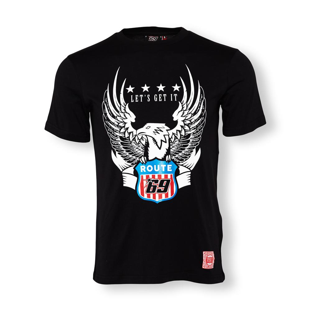 Nicky Hayden 69 Eagle Route T-shirt | Moto GP Apparel