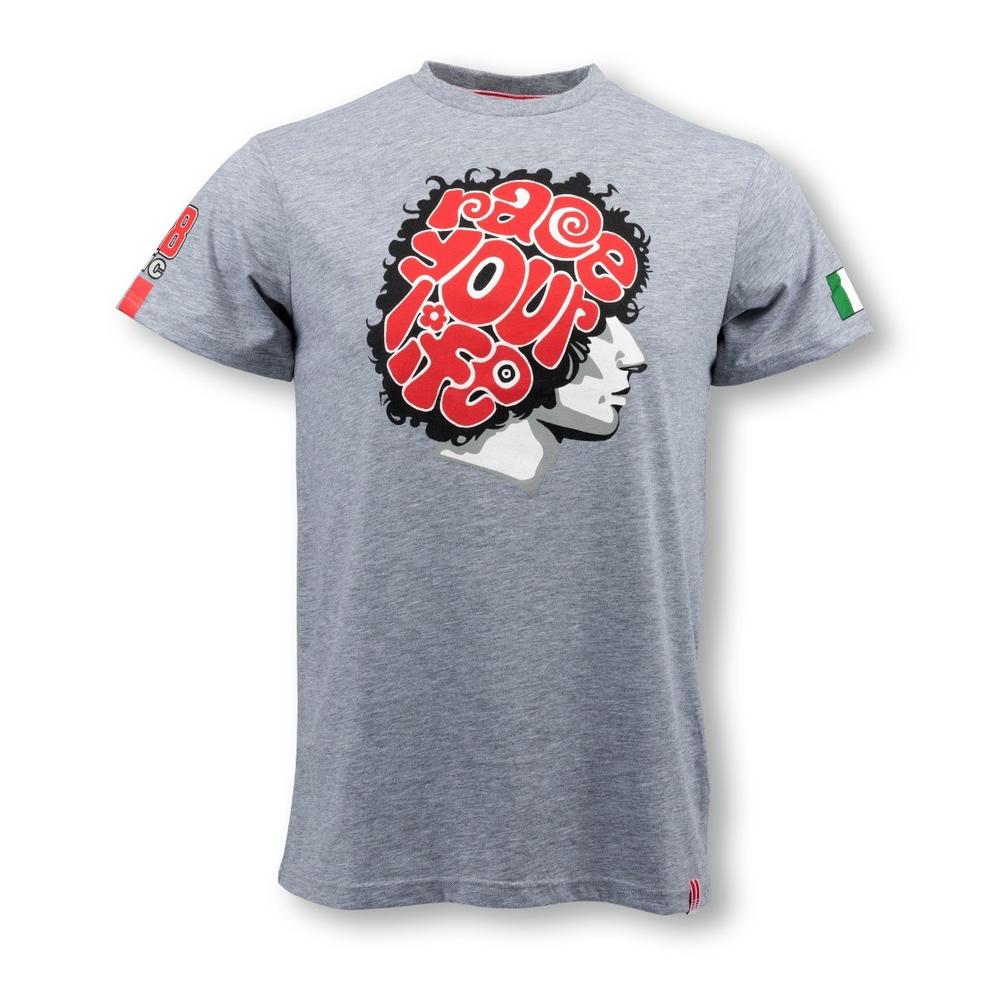 Marco Simoncelli Brain T-shirt | Moto GP Apparel