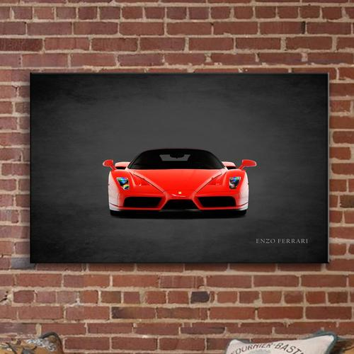 Enzo Ferrari | Canvas