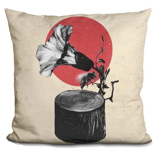 'Gramophone' Throw Pillow