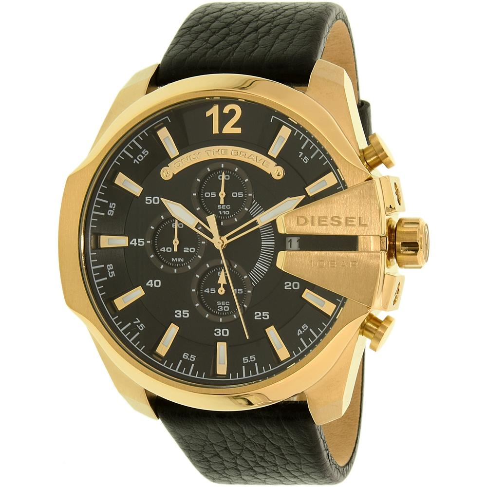 images 20. Diesel Mega Chief Gold Watch