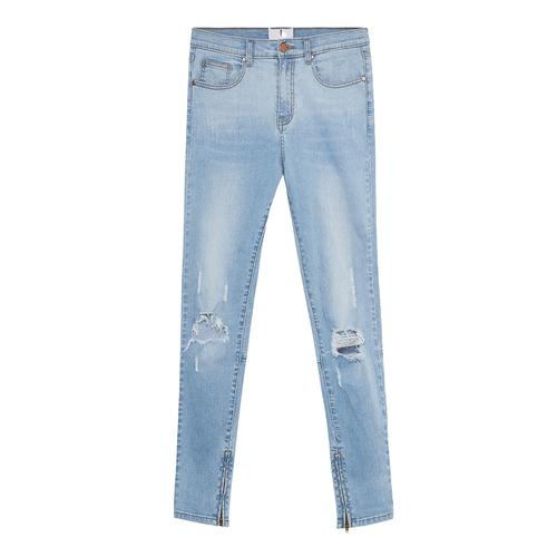 Destroyed Denim | Blue