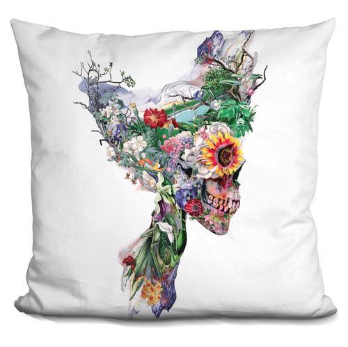 Riza Peker 'Don't Kill The Nature' Throw Pillow