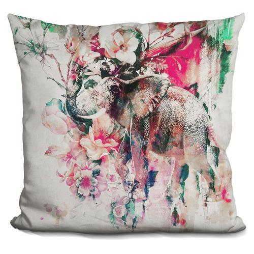 Riza Peker 'Elephant II' Throw Pillow