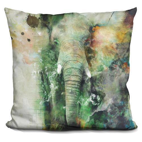 Riza Peker 'Elephant' Throw Pillow