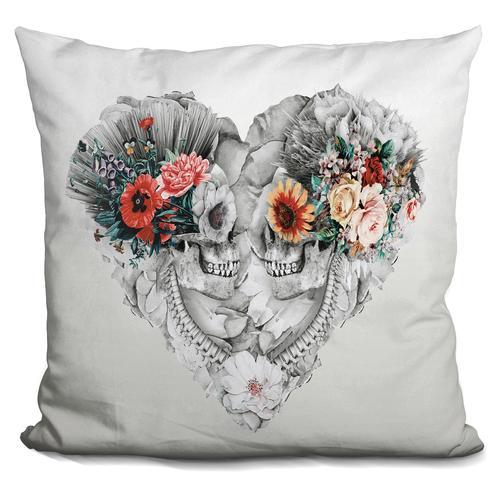 Riza Peker 'Forever Love II' Throw Pillow