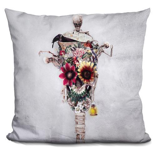 Riza Peker 'Scarecrow' Throw Pillow