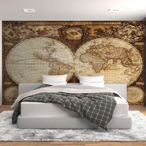 Old Atlas Of The World Wall Mural