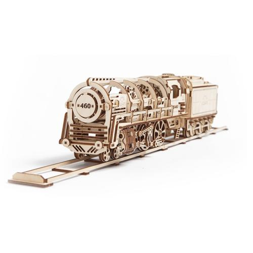 Steam Locomotive with tender | Mechanical Machines