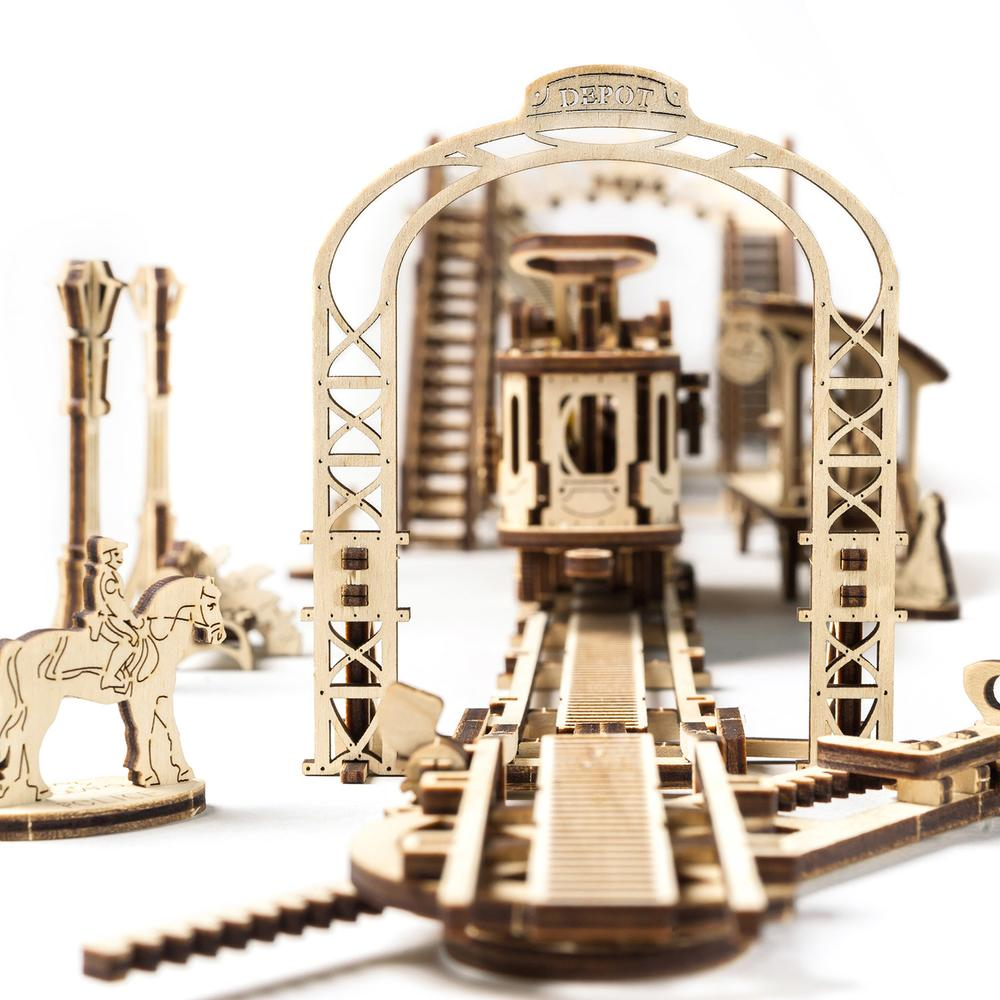 Tram line | Mechanical Machines