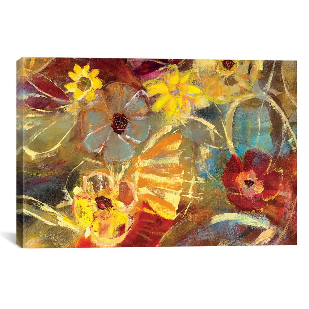 Chalkboard Flowers II | Julian Spencer