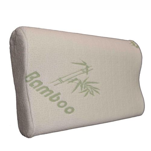 Orthopedic Memory Foam Bamboo Derived Rayon Contour Pillow