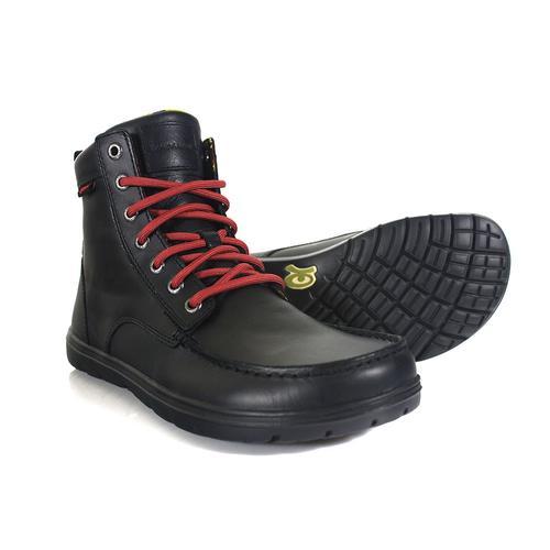 Boulder Boot   Leather Raven