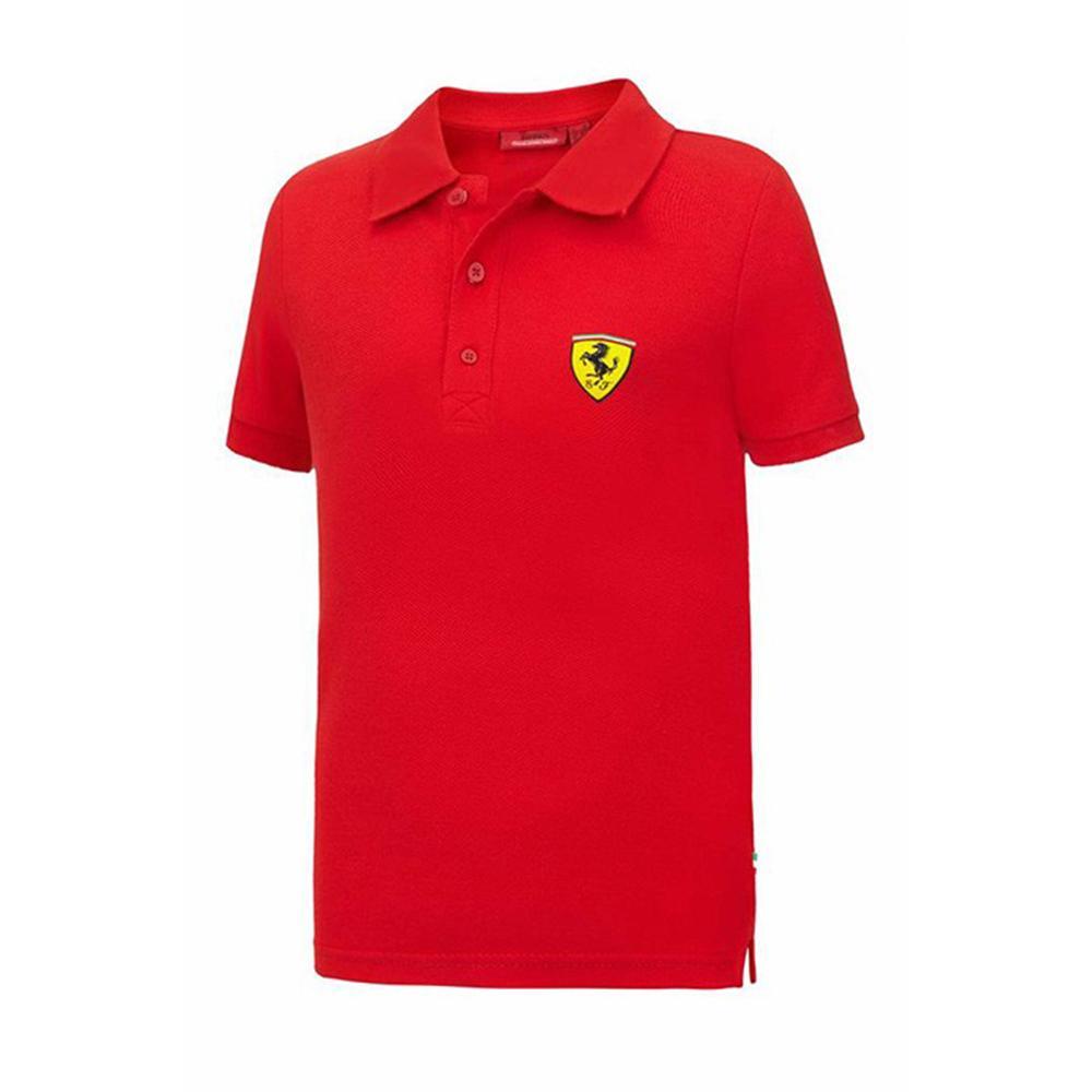 Scuderia Ferrari Classic Polo Kids   Motorstore