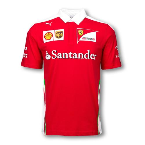 Scuderia Ferrari Team Polo Mens 2016 Replica