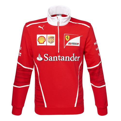 Scuderia Ferrari Team Half Zip Fleece 2017