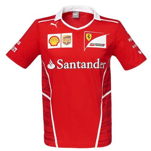 Scuderia Ferrari Vettel T-Shirt 2017 Replica
