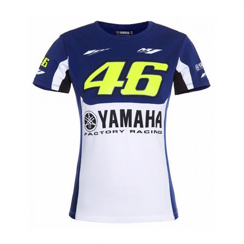 YAMAHA VALENTINO ROSSI T-SHIRT LADIES 2016 REPLICA