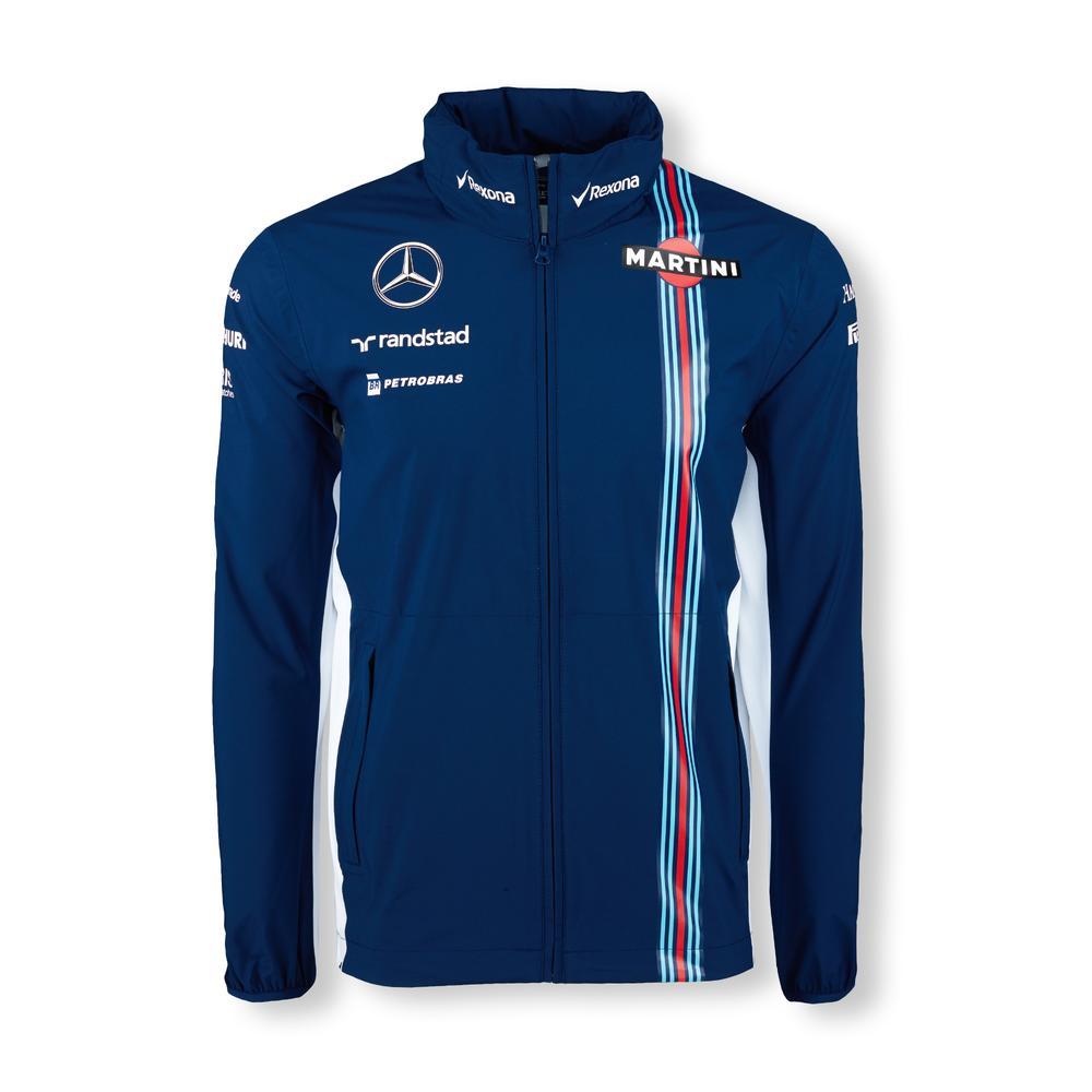 WILLIAMS MARTINI RACING RAIN JACKET MENs| Motorstore F1 Team