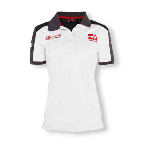 HAAS TEAM POLO SHIRT LADIES 2016 REPLICA