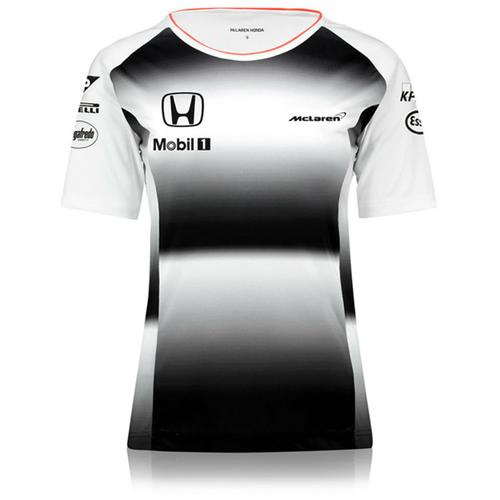 MCLAREN HONDA TEAM T-SHIRT LADIES 2016 REPLICA