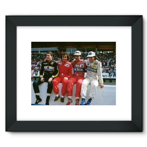 1986 Portuguese Grand Prix Championship Contenders | Black