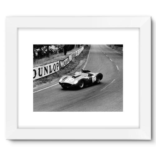 Dan Gurney/Jean Behra, Ferrari 250TR | White