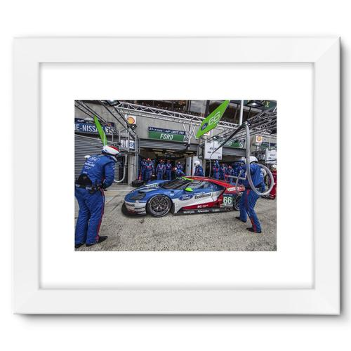 Pit Stop - Racing Ford GT | White