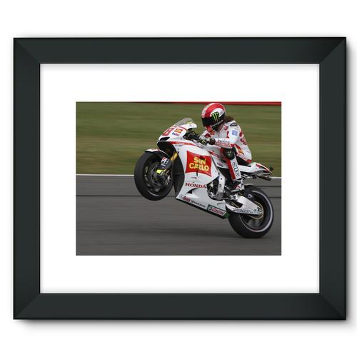 Marco Simoncelli, 2011 British Grand Prix at Silverstone | Black