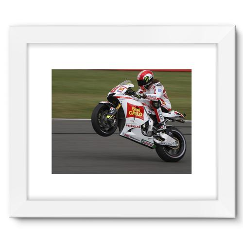 Marco Simoncelli, 2011 British Grand Prix at Silverstone | White